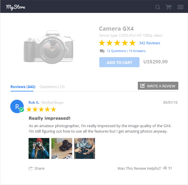 Yotpo Reviews Features
