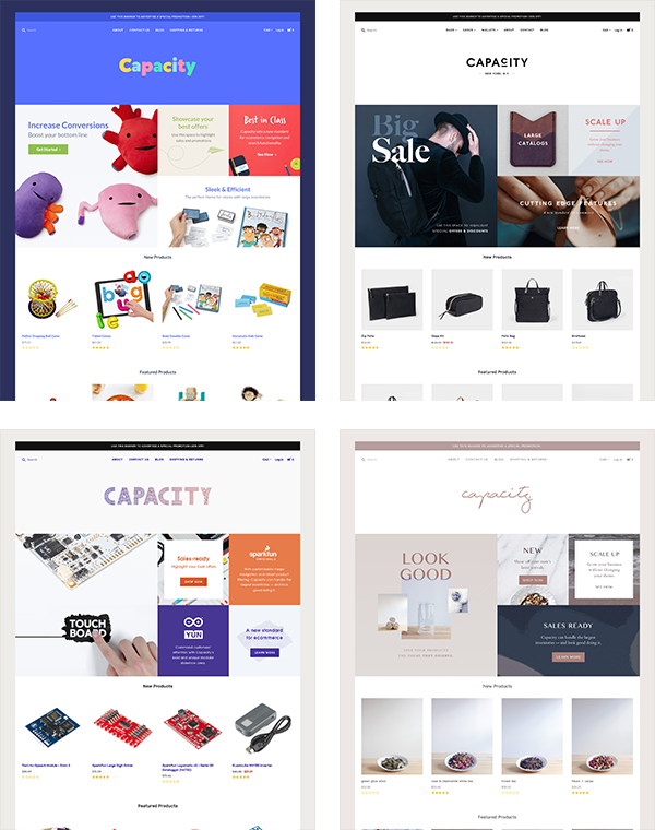 BigCommerce Capacity Theme
