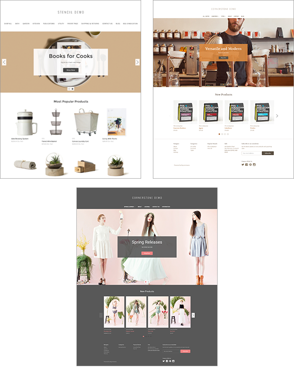 BigCommerce Cornerstone Theme