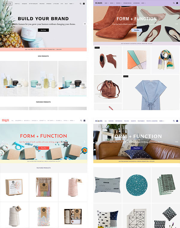 BigCommerce Scales Theme