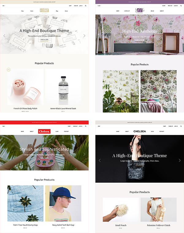 BigCommerce Chelsea Theme