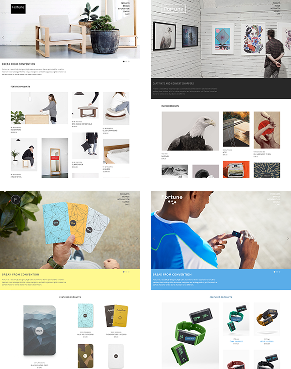 BigCommerce Fortune Theme